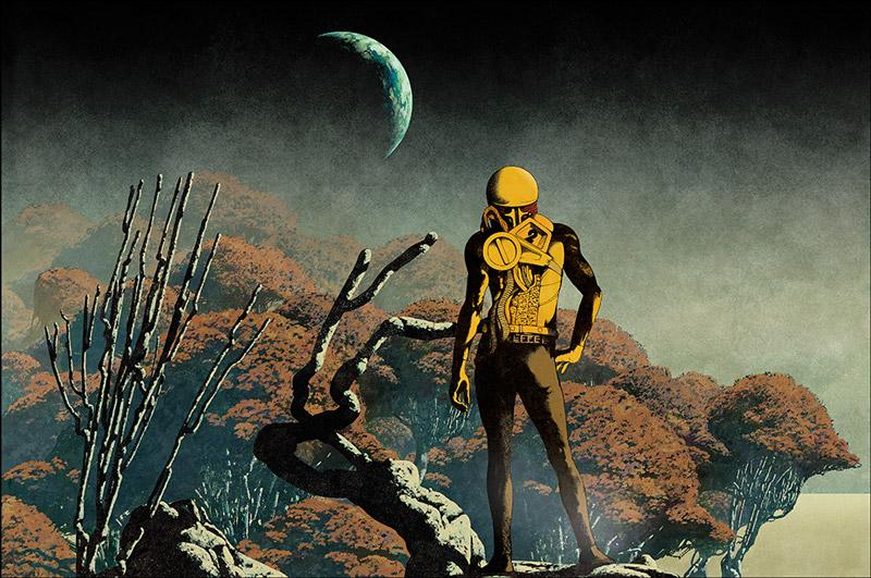 Juxtapoz Magazine Sci Fi Surreal Album Covers By Dan Mcpharlin