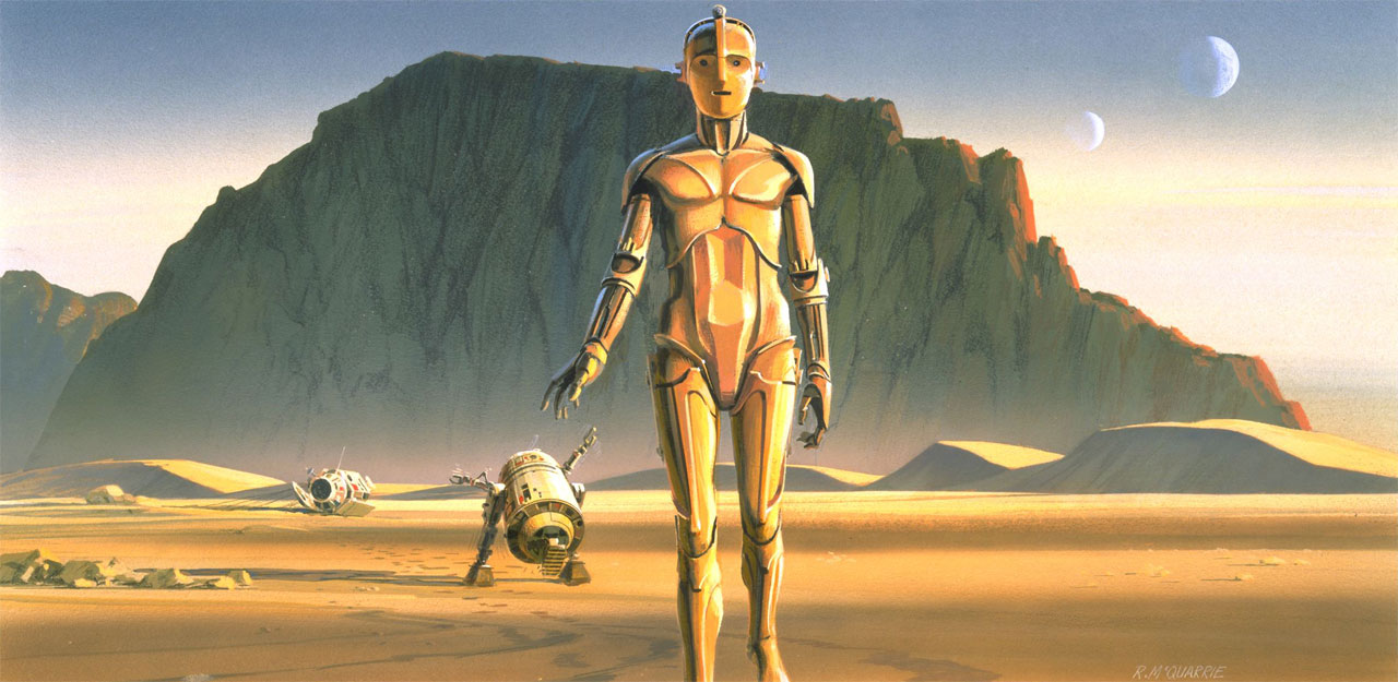 Image result for RALPH MCQUARRIE